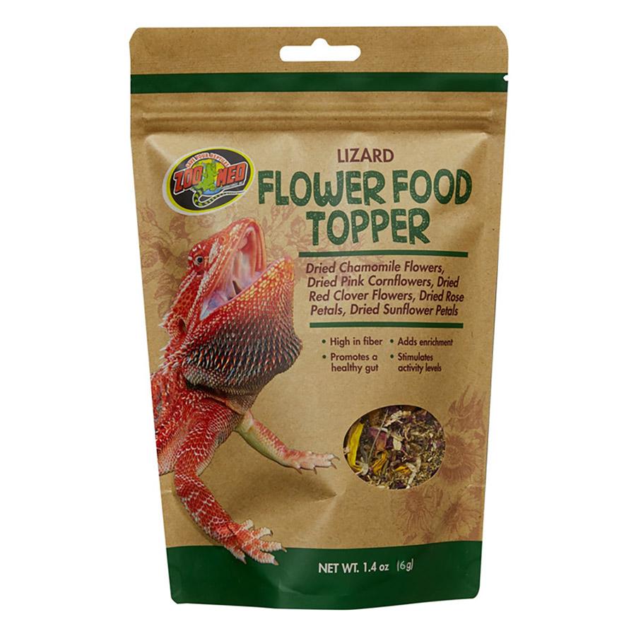 Zoo Med Lizard Flower Food Topper, 6g