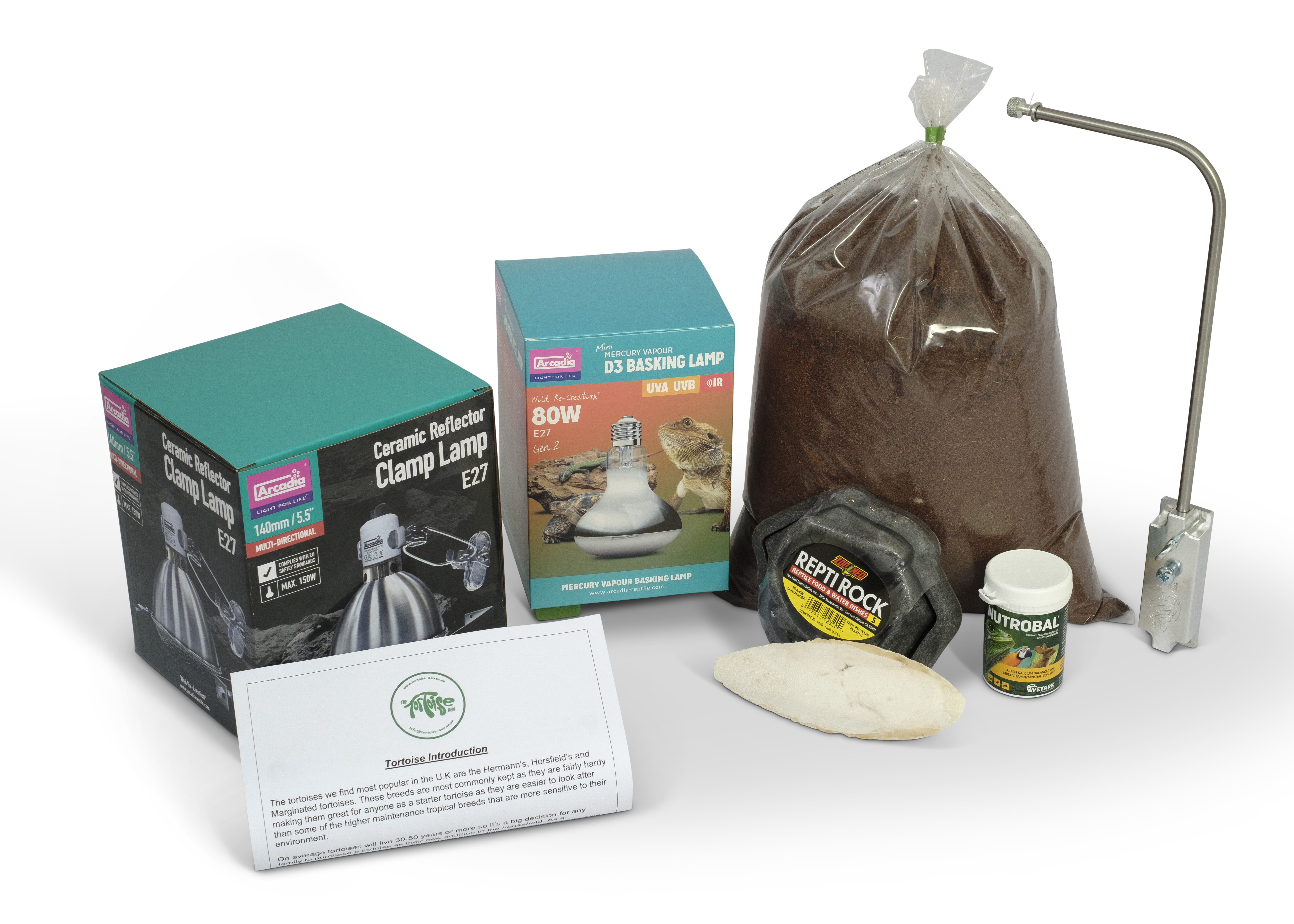 Standard Product Package (No Tortoise Table)